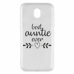 Чохол для Samsung J5 2017 Best auntie ever