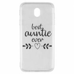 Чохол для Samsung J7 2017 Best auntie ever