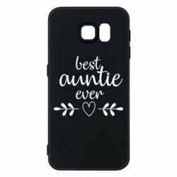 Чохол для Samsung S6 Best auntie ever