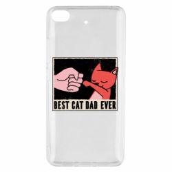 Чехол для Xiaomi Mi 5s Best cat dad ever