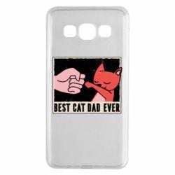 Чехол для Samsung A3 2015 Best cat dad ever