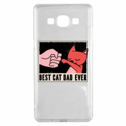 Чехол для Samsung A5 2015 Best cat dad ever
