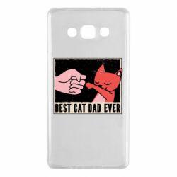 Чехол для Samsung A7 2015 Best cat dad ever