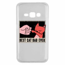 Чехол для Samsung J1 2016 Best cat dad ever