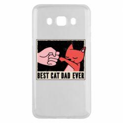 Чехол для Samsung J5 2016 Best cat dad ever