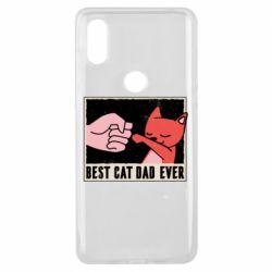 Чехол для Xiaomi Mi Mix 3 Best cat dad ever