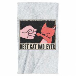 Полотенце Best cat dad ever
