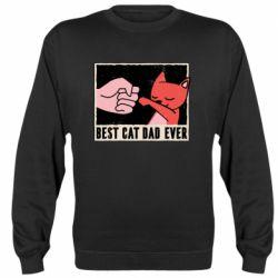 Реглан (свитшот) Best cat dad ever