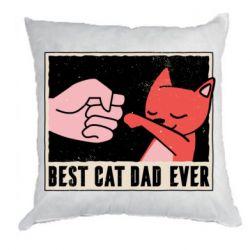 Подушка Best cat dad ever