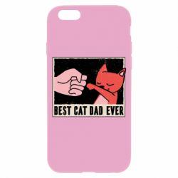 Чехол для iPhone 6/6S Best cat dad ever