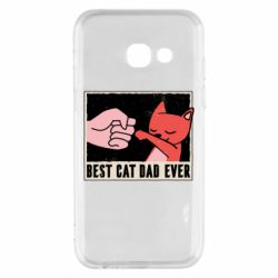 Чехол для Samsung A3 2017 Best cat dad ever