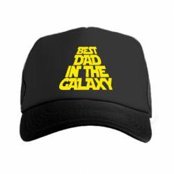 Кепка-тракер Best dad in the galaxy