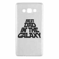 Чехол для Samsung A7 2015 Best dad in the galaxy