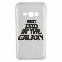 Чехол для Samsung J1 2016 Best dad in the galaxy