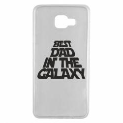 Чехол для Samsung A7 2016 Best dad in the galaxy