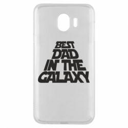 Чехол для Samsung J4 Best dad in the galaxy