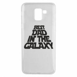 Чехол для Samsung J6 Best dad in the galaxy