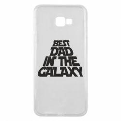 Чехол для Samsung J4 Plus 2018 Best dad in the galaxy