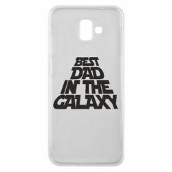 Чехол для Samsung J6 Plus 2018 Best dad in the galaxy