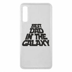 Чехол для Samsung A7 2018 Best dad in the galaxy