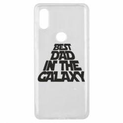 Чехол для Xiaomi Mi Mix 3 Best dad in the galaxy