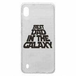 Чехол для Samsung A10 Best dad in the galaxy