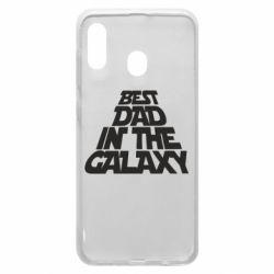 Чехол для Samsung A20 Best dad in the galaxy