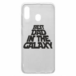 Чехол для Samsung A30 Best dad in the galaxy