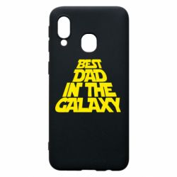Чехол для Samsung A40 Best dad in the galaxy