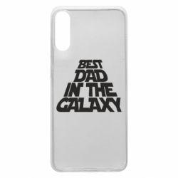 Чехол для Samsung A70 Best dad in the galaxy