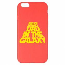 Чехол для iPhone 6 Plus/6S Plus Best dad in the galaxy