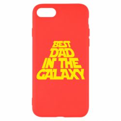 Чехол для iPhone 7 Best dad in the galaxy