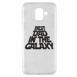 Чехол для Samsung A6 2018 Best dad in the galaxy