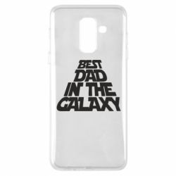 Чехол для Samsung A6+ 2018 Best dad in the galaxy