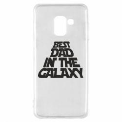 Чехол для Samsung A8 2018 Best dad in the galaxy