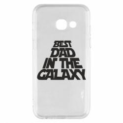 Чехол для Samsung A3 2017 Best dad in the galaxy