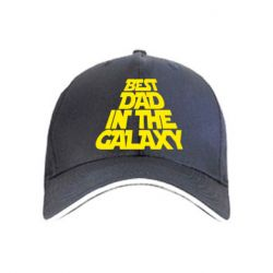 Кепка Best dad in the galaxy