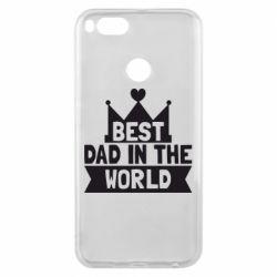 Чехол для Xiaomi Mi A1 Best dad in the world