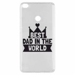 Чехол для Xiaomi Mi Max 2 Best dad in the world