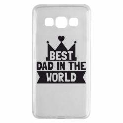 Чехол для Samsung A3 2015 Best dad in the world