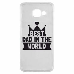 Чехол для Samsung A3 2016 Best dad in the world