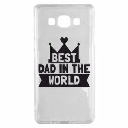 Чехол для Samsung A5 2015 Best dad in the world