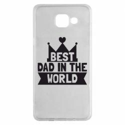 Чехол для Samsung A5 2016 Best dad in the world