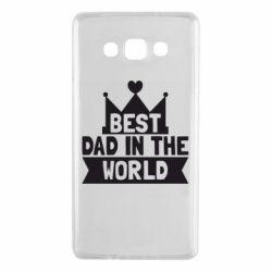 Чехол для Samsung A7 2015 Best dad in the world