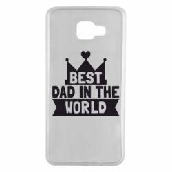 Чехол для Samsung A7 2016 Best dad in the world