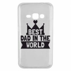 Чехол для Samsung J1 2016 Best dad in the world