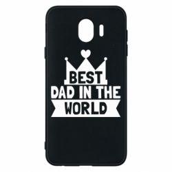 Чехол для Samsung J4 Best dad in the world