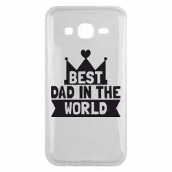 Чехол для Samsung J5 2015 Best dad in the world