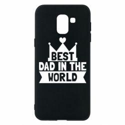 Чехол для Samsung J6 Best dad in the world