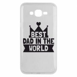 Чехол для Samsung J7 2015 Best dad in the world